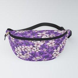 Ultra Violet Spring Fanny Pack