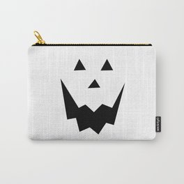 Jack O'Lantern Face Carry-All Pouch