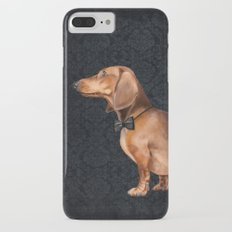 Elegant dachshund. iPhone 7 Plus Slim Case