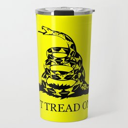 Gadsden flag - Don't tread on me Travel Mug