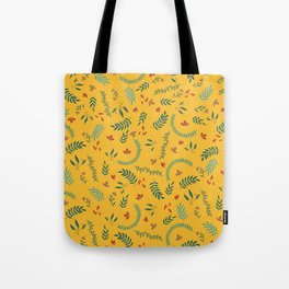 Leves in Yellow Ochre Tote Bag