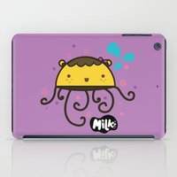 musa iPad Cases featuring Lusa Musa© of MILK FACTORY ® by Mimi Guarnero