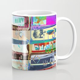 Video Tapes Abstract Coffee Mug
