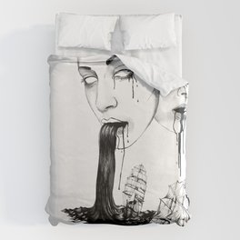 They : Water Duvet Cover