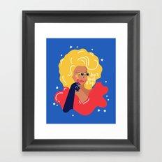 RuPaul Framed Art Print