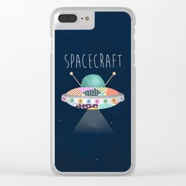Spacecraft Clear iPhone Case