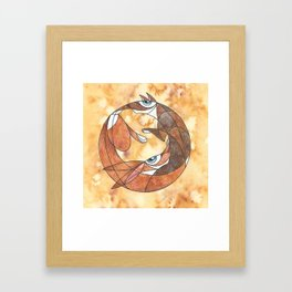 Aesop's Fable: The Hare And The Hound Framed Art Print