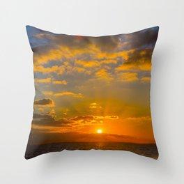 Hythe Sunset Throw Pillow