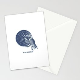 Insect's badge. Scarabaeus. Stationery Cards
