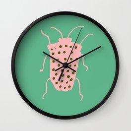 arthropod aqua Wall Clock