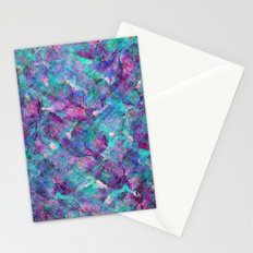 Frozen Leaves 2 Stationery Cards