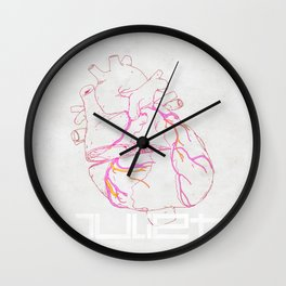 HEART OF THE JULIET - DAGGER Wall Clock