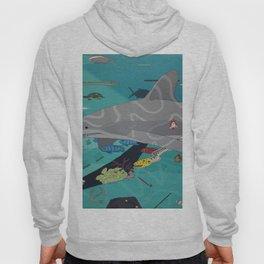 Aquarium (Shark Painting) Hoody