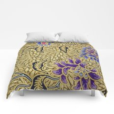 Traditional Art Batik Pattern Comforters
