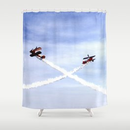 Wing Walkers 1 Shower Curtain