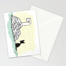 The End (The Naughty Kitten) Stationery Cards