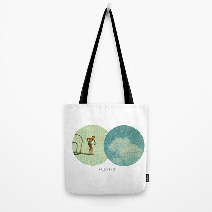 Survive | Collage Tote Bag