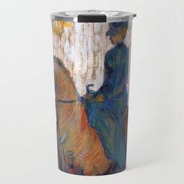"Henri de Toulouse-Lautrec ""Side-saddle"" Travel Mug"