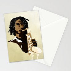 Sax Me Up Stationery Cards