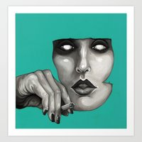 study Art Prints featuring Study by Ania