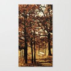 Respite on the Trail Canvas Print