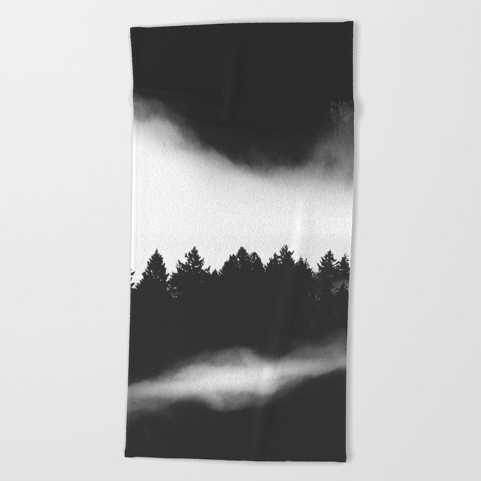 The Woods are calling Beach Towel