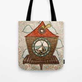 Birdhouse  Tote Bag