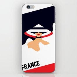 Fashionable France iPhone Skin