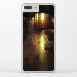 Candle Light Clear iPhone Case