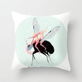 La fuga dall' Eden Throw Pillow