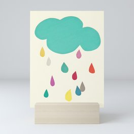 Sunshine and Showers Mini Art Print