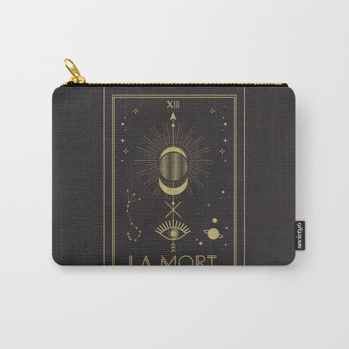 La Mort or The Death Tarot Carry-All Pouch