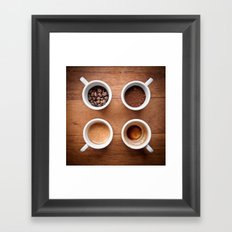 coffee VI. Framed Art Print