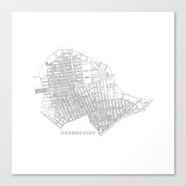 Greenpoint Canvas Print