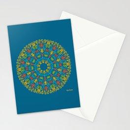 Bienvenida a Marte (Azul) Stationery Cards
