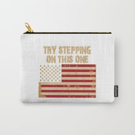Try stepping on this flag Carry-All Pouch