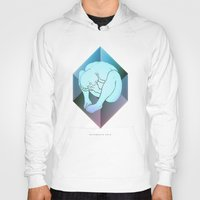 prism Hoodies featuring despair ~ prism by datamouth