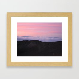 Mauna Kea Sunrise Framed Art Print