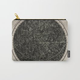 Constellations of the Northern Hemisphere on Vintage Paper Carry-All Pouch