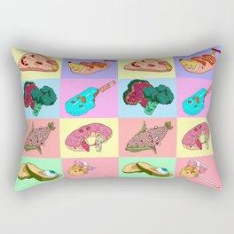 Sick Food Rectangular Pillow