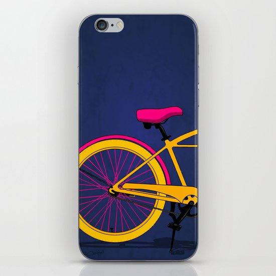 Happy Bike iPhone & iPod Skin