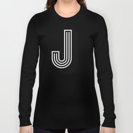 Letter J Long Sleeve T-shirt