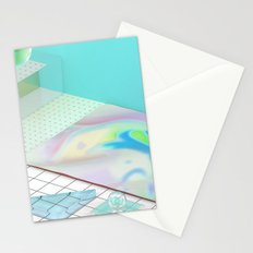 The Girl With X-Ray Eyes Stationery Cards