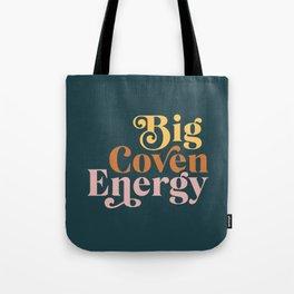 Big Coven Energy - Navy Tote Bag