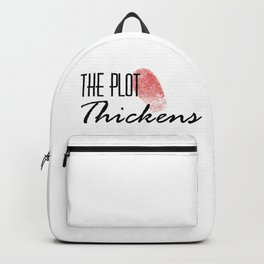 The Plot Thickens Backpack