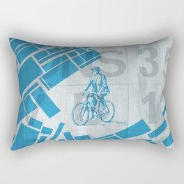 BlueBike Rectangular Pillow