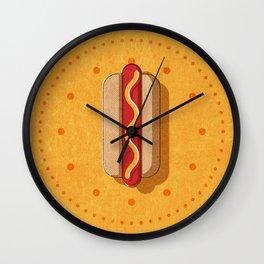 FAST FOOD / Hot Dog Wall Clock
