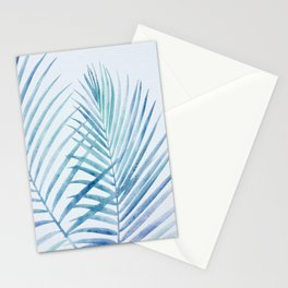Coastal Palms Watercolor Stationery Cards