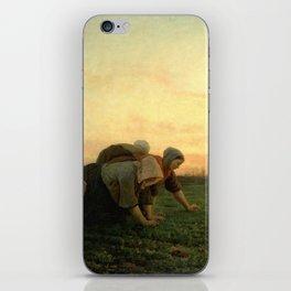 Jules Breton - The Weeders iPhone Skin
