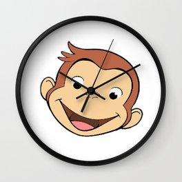 curios george Wall Clock